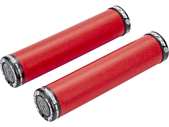 Reverse Seismic Ergo Cykelhåndtag 145mm, red/black
